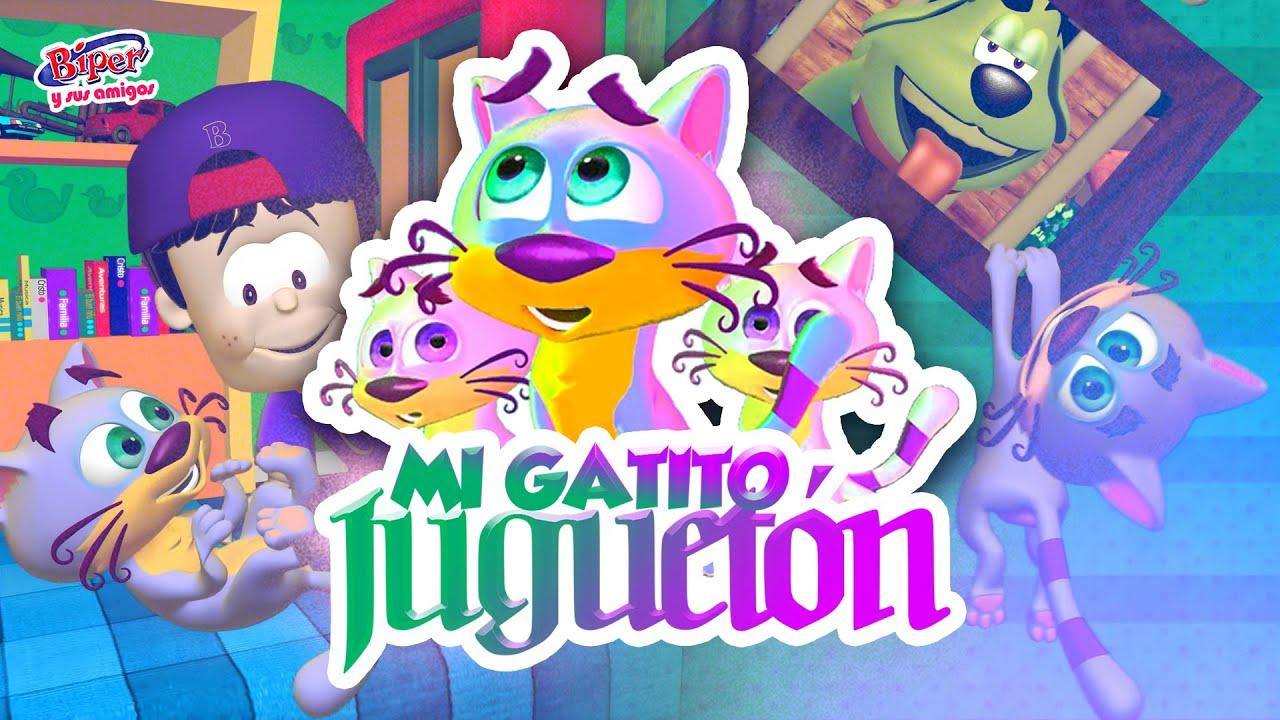 Download Biper y sus Amigos | Mi Gatito Juguetón (Video Oficial)