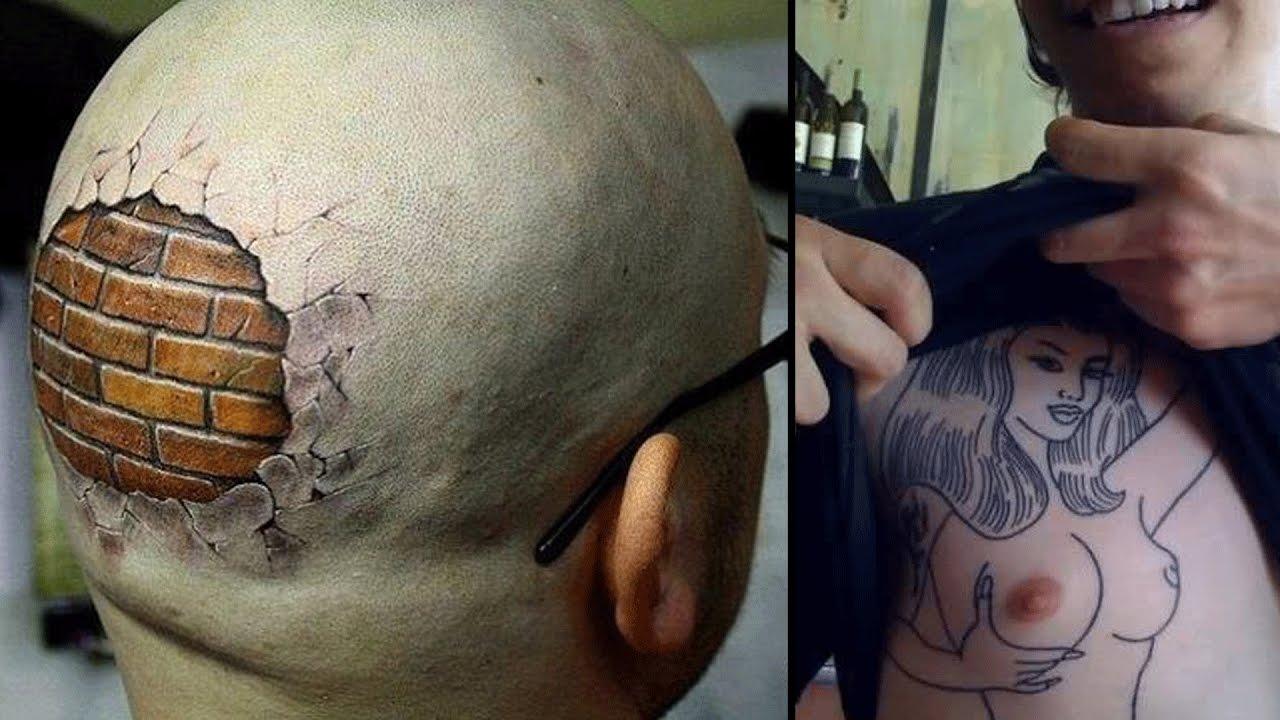 Los Tatuajes Mas Raros Y Originales Youtube