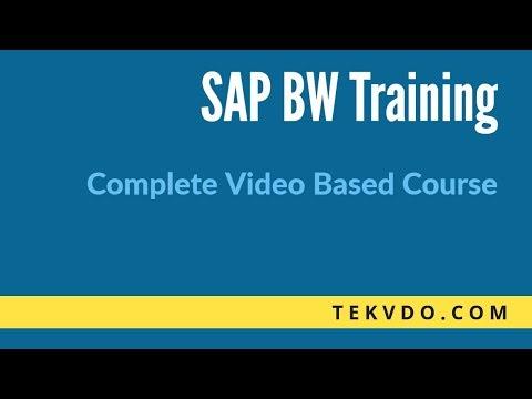 SAP Business Warehouse(BW)/Business Intelligence(BI) Online Training