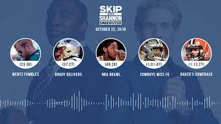 UNDISPUTED Audio Podcast (10.22.18) with Skip Bayless, Shannon Sharpe & Jenny Taft | UNDISPUTED