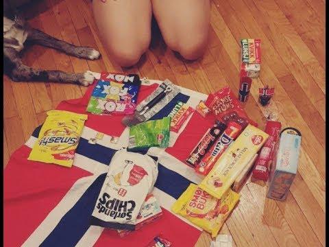 Americans try Norwegian candy | Boston VLOG 1