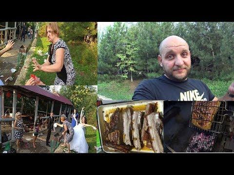 ЖЕСТЬ! Свадьба по Донецки ! Ребра на мангале |