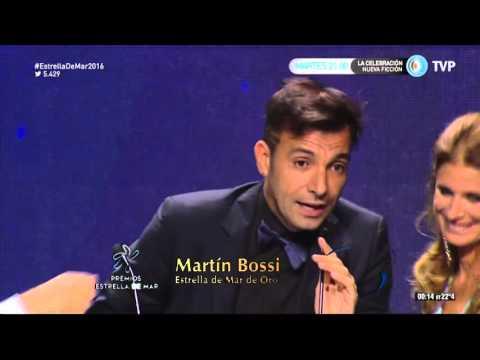 Martín Bossi y su emoción por el Estrella de Mar de oro