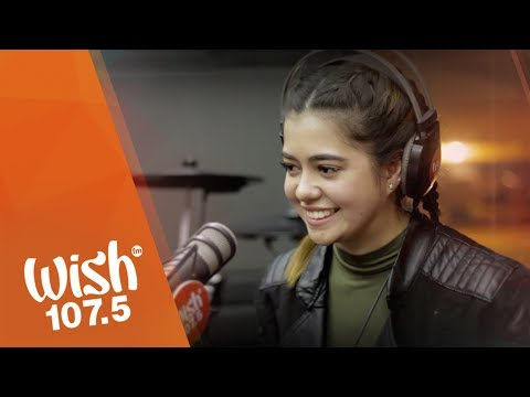 "Sue Ramirez covers ""Your Love"" (Alamid) LIVE on Wish 107.5 Bus"