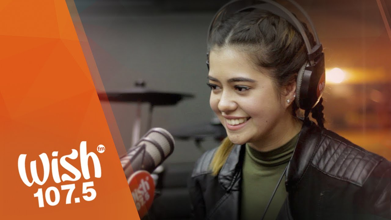 Sue Ramirez covers 'Your Love' (Alamid) LIVE on Wish 107.5 Bus