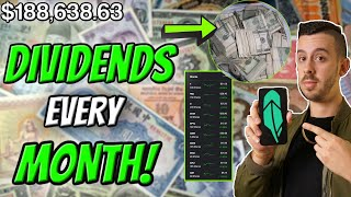 These Monthly Paying Dividend Stock are STILL SALE!! Robinhood Investing