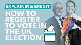 How Can You Vote in the General Election?