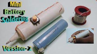 V2 - Soldering | Mini battery soldering iron