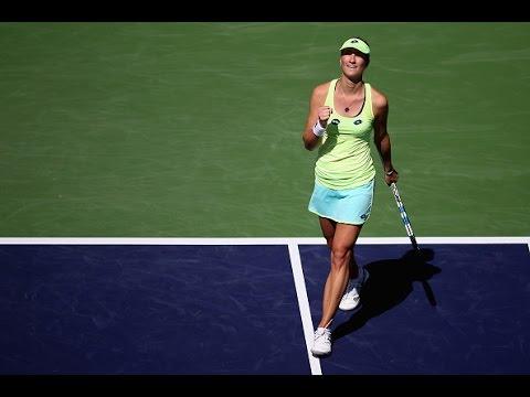 2016 BNP Paribas Open Second Round   Denisa Allertova vs Angelique Kerber   WTA Highlights