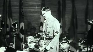 Гитлер - психологический анализ выступления.avi(Оргазмом для него заканчивалось каждое такое
