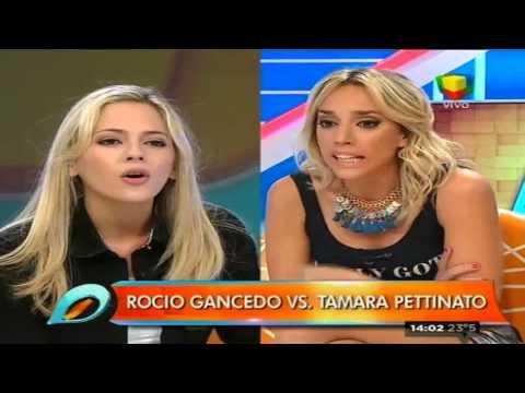 Feroz pelea al aire entre Tamara Pettinato y Rocío Gancedo