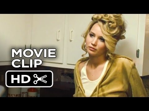 American Hustle Movie CLIP #1 (2013) - Jennifer Lawrence Movie HD