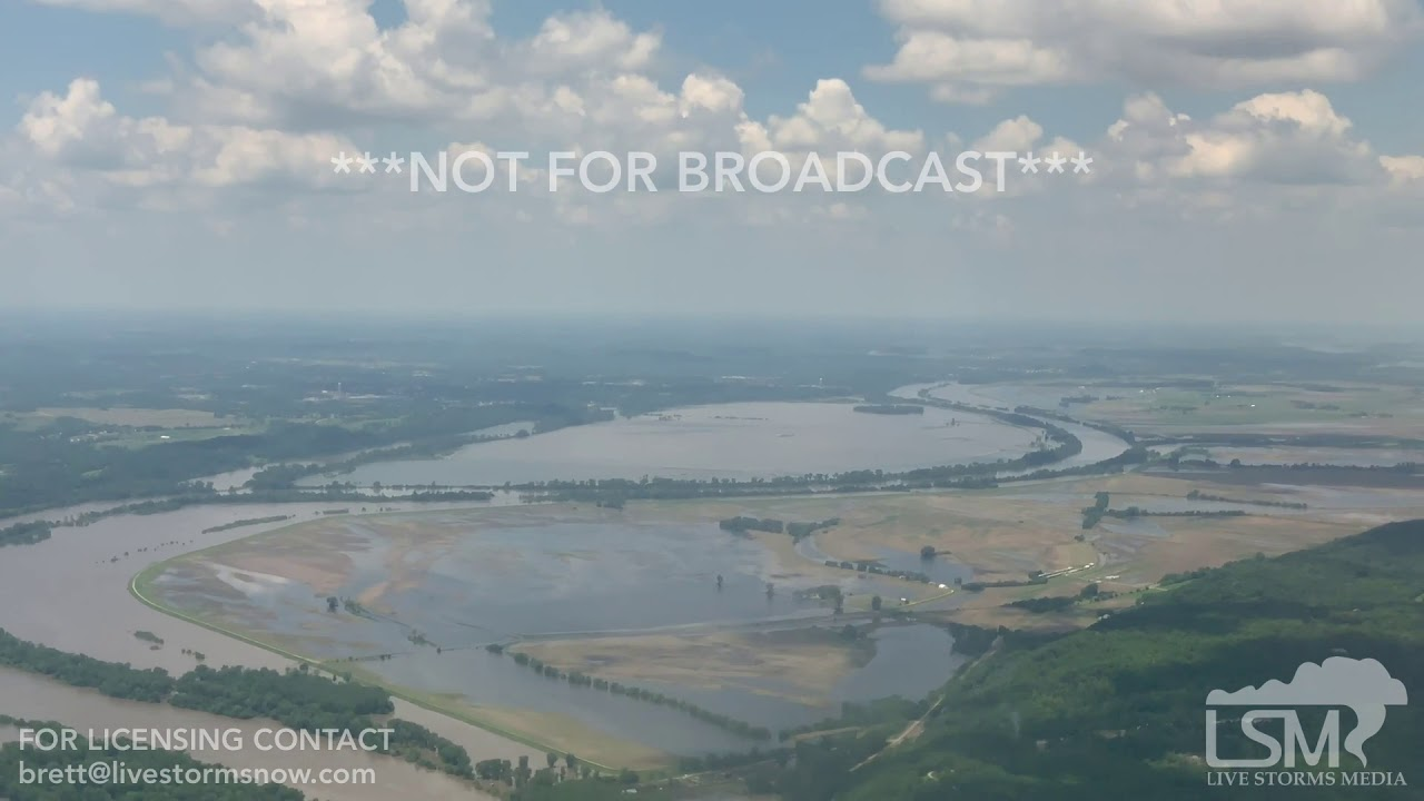 06-07-2019 Kansas City, KS - Missouri River Flooding