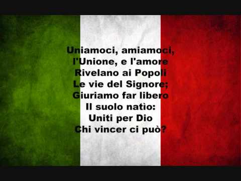 Il Canto degli Italiani (1847) - G. Mameli e M. Novaro