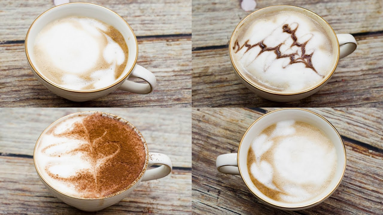 HOW TO MAKE A LATTE AT HOME I WITHOUT COFFEE MACHINE l ...