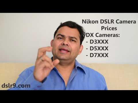 Nikon DSLR Camera Prices in India [2017] (Hindi)