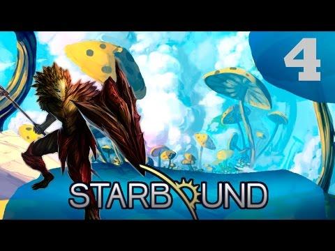 Прохождение Starbound (v.Upbeat Giraffe) #4 - Птицозавр
