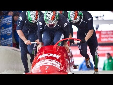 Altenberg WC 4Man Bobsleigh Heat 2, January 6 2013