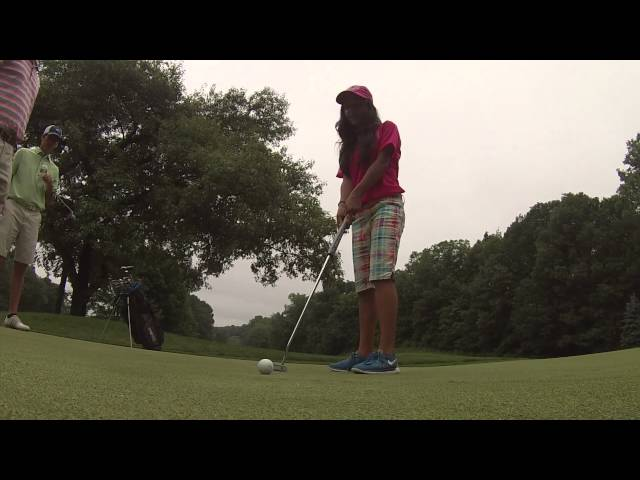 GoPro Action with Tiffany Joh and Girls Golf Member Mia