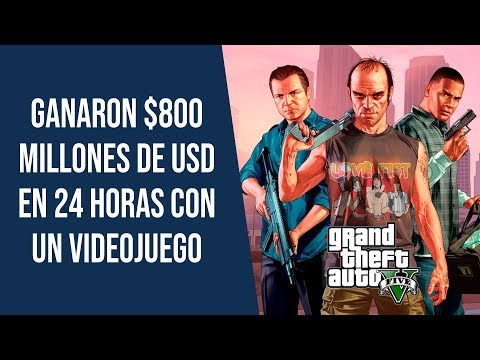 Cómo estos emprendedores crearon GTA V, el videojuego más vendido de la historia 🎮