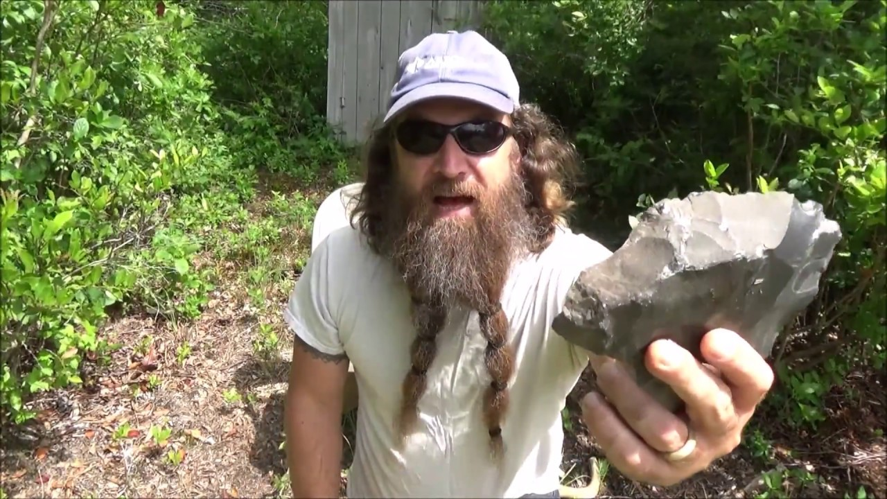 Download speed making an arrowhead with primitive tools