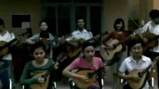 Hoà tấu ''Nhạc Rừng''.mardoline và guitar