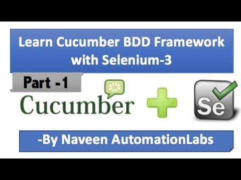 Download Cucumber - jvm (BDD Framework) with Selenium WebDriver - Part 1