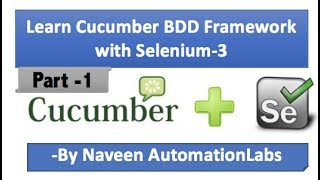 Cucumber - JVM (BDD Framework) With Selenium Full Series