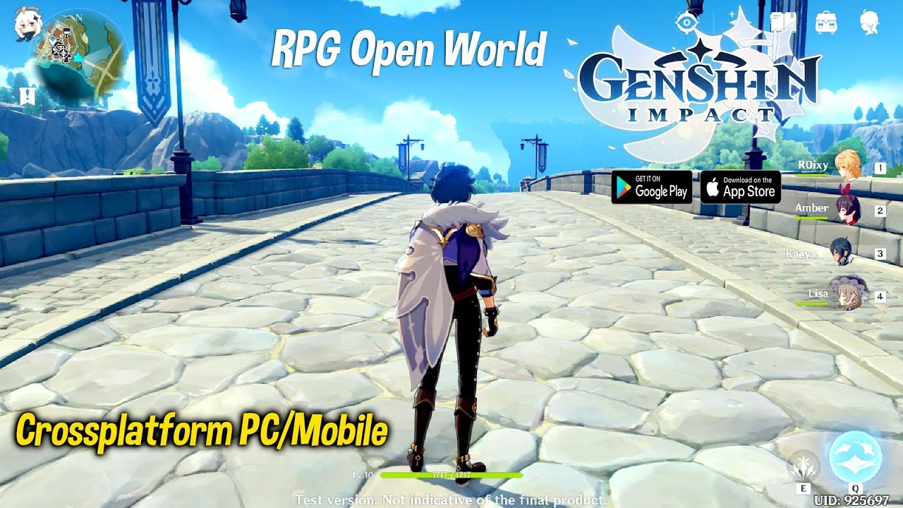 1 Cbt 2 Gameplay Genshin Impact Rpg Open World Crossplatform Pc Mobile Youtube