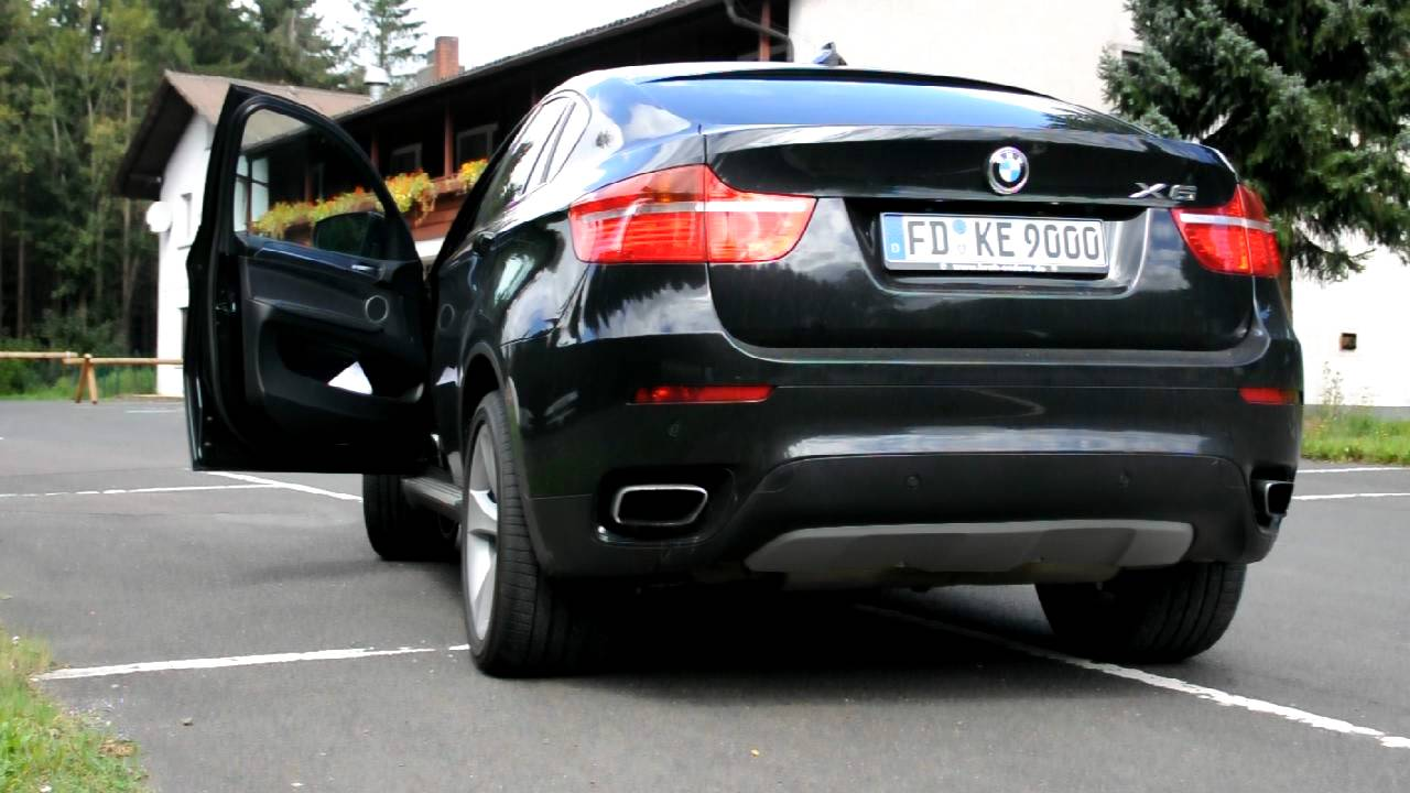 Bmw X6 50i Xdrive Sound Youtube