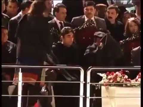 Asif Ali Zardari Drinking Alcohol in Golden Jublee Jalsa at Parade Ground