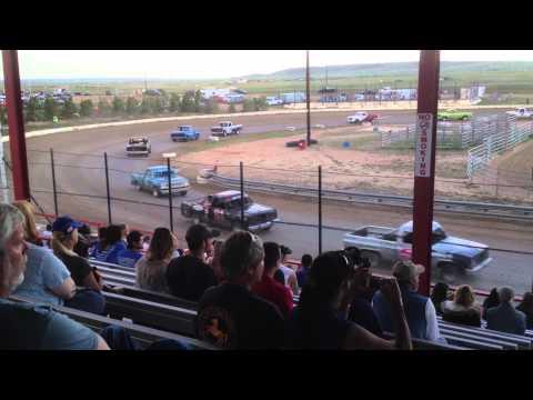 El Paso County Speedway (05-05-12, Video #1 of 2) Dirt Track Racing 'Trucks'