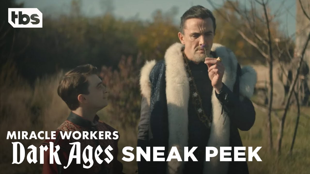 Download Miracle Workers: Dark Ages   The King Goes to Therapy - Episode 7 Exclusive Scene   TBS