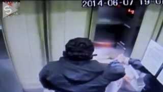 Accidente en un ascensor en Chile