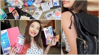 What's in my Backpack! + GIVEAWAY (School Supplies) Thumbnail
