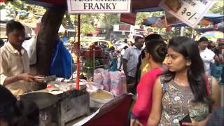 Indian Street Food: Veg Butter Toast Sandwich, Veg Cheese Frankie, near Siddhivinayak Mandir, Mumbai