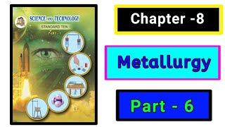 Part-6 ch-8th metallurgy science class 10th new syllabus maharashtra board