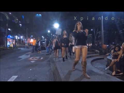 Medellin Colombia Lleras Park Night Tour Nightlife District