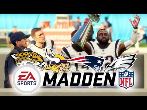 WHO DOES MADDEN 18 THINK WILL WIN THE SUPER BOWL!