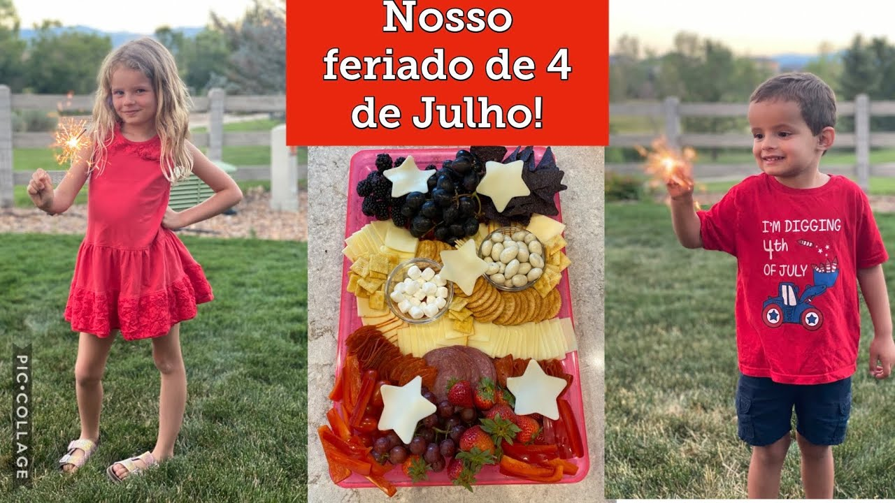 Feriado de 4 de Julho!!