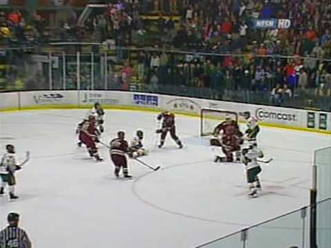 Brian Roloff Tying Goal vs. Boston College