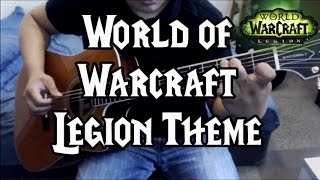 world of warcraft anduin theme guitar interpretation anton betita