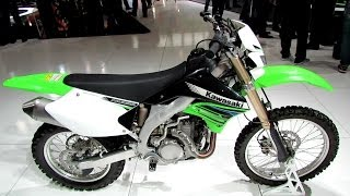 2014 Kawasaki KLX450R Enduro Walkaround - 2013 EICMA Milano Motorcycle Exhibition
