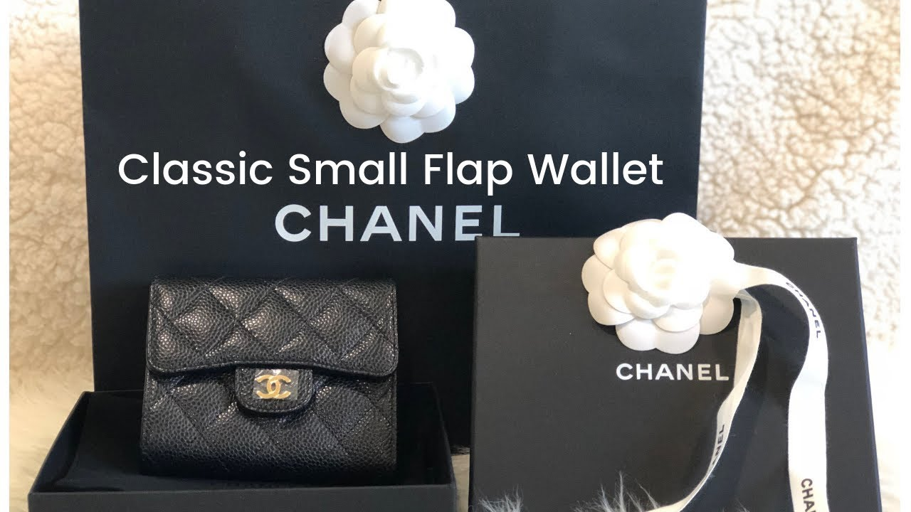 285503664bd4 Unboxing - Chanel Classic Small Flap Wallet! - YouTube