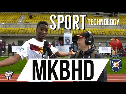 Sport technology with Marques Brownlee (MKBHD) | Philadelphia Phoenix | AUDL | Ultimate frisbee