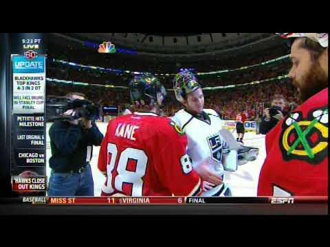 ESPN Sportscenter Chicago Blackhawks VS LA Kings 2013 Game 5 Western Conference Finals PART 1