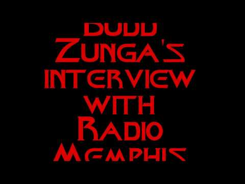 Budd Zunga interview with Radio Memphis