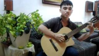 Jamaica Farewell and Loi Yeu Thuong Guitar Cover.mp4