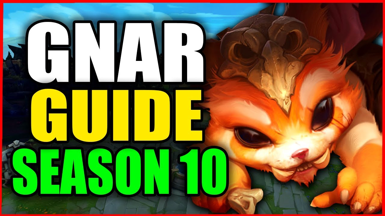 How to Play GNAR for BEGINNERS (Best Build, Runes, Season 10) S10 Gnar Gameplay Guide
