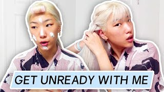 Chatty Get Unready w Me (Overnight Waves & Skincare) & life update - ABOUT MY NEW GRAVEYARD SHIFTS